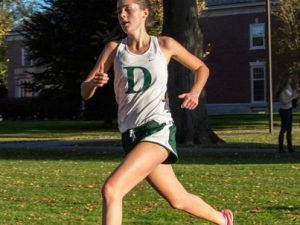 Lauren Ilsley '16 runs cross country at Andover.